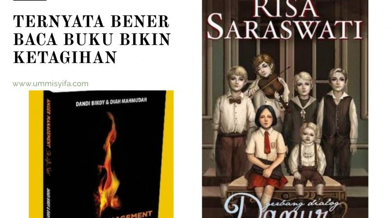 Menikmati Dua Buku yang Berbeda Genre