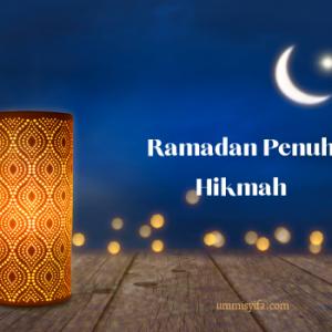 Doa & Harapanku Jelang Akhir Ramadan