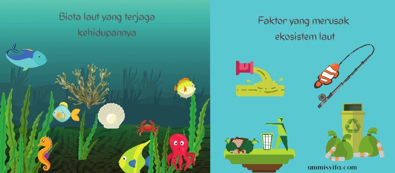 Monster Pengganggu Ekosistem Laut