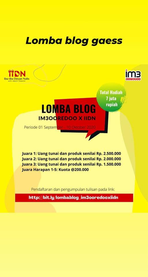 IM3 Ooredoo Mengoptimalkan Blogging