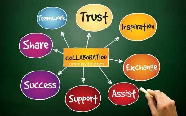 Berkolaborasi membangun kebersamaan