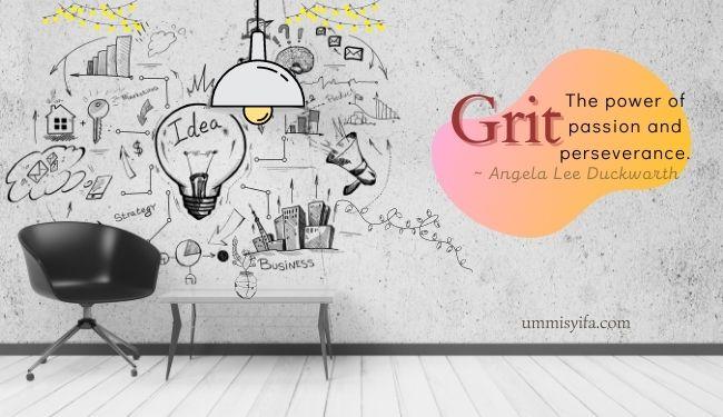 Grit, Kunci Kesuksesan Seseorang Dalam Kehidupan
