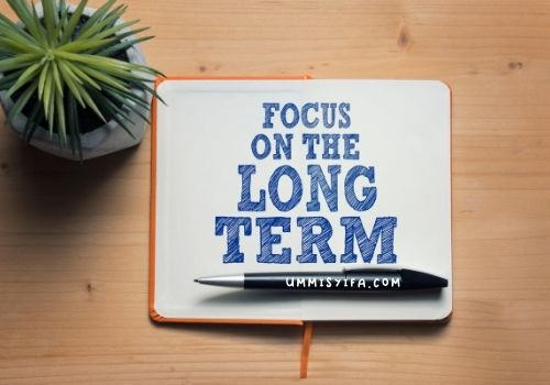 Menjaga personal achievement