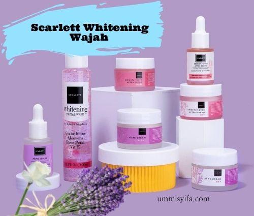 Produk Scarlett Whitening untuk Wajah