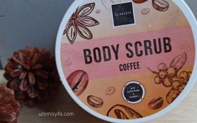 Body Scrub Scarlett Coffee